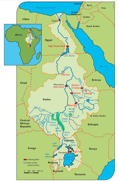ナイル川流域