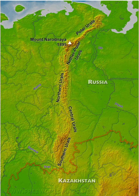 ウラル山脈