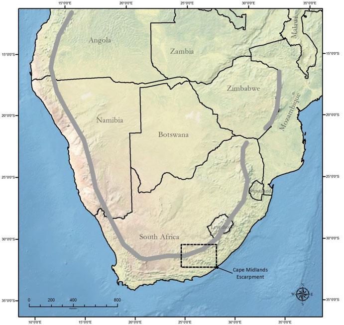 南アフリカ山脈